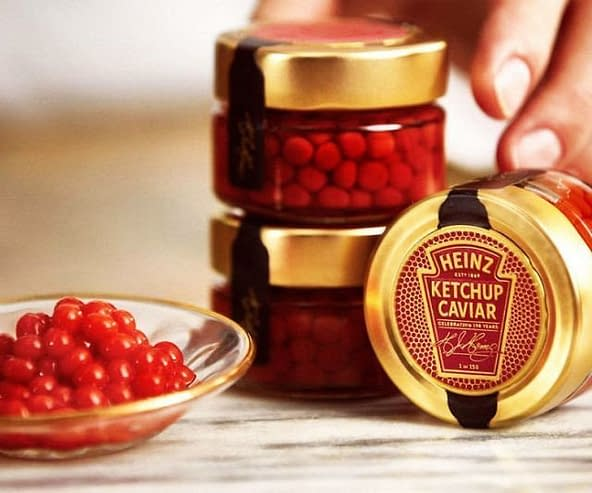fantastici Caviale di Ketchup Heinz