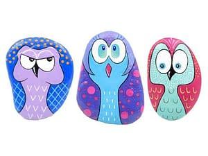 Sapevate che su Amazon ci sono anche prodotti artigianali? Oggi scopriamo insieme questi curiosi gufi sapientemente dipinti a mano!