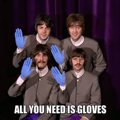 All you need is Gloves
