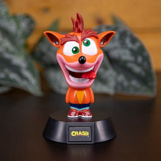Lampada Crash Bandicoot