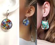 15+ orecchini fatti a mano per un regalo originale