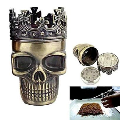 gadget Macinino a forma di cranio incoronato by RIVENBERT