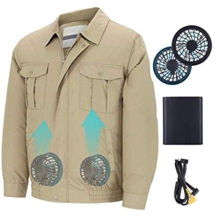 Con questo caldo ci vorrebbe una giacca con ventilatore incorporato! Quante volte lo hai detto! Beh: detto fatto!
