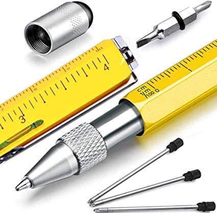 Versione da ufficio del coltellino svizzero, all'interno di una penna si nascondono decine di gadget da fare invidia al miglior MacGyver. Un idea regalo perfetta per il collega più pignolo!