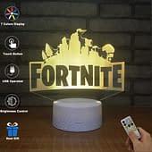 lampada 3d fortnite logo