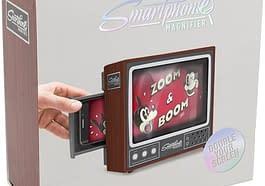 Visore Smartphone a forma di TV Vintage